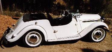 singer roadster coté