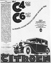 publicité C4